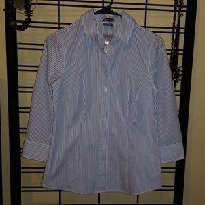 Van Heusen Striped Button Up